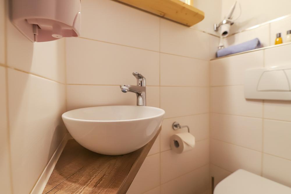 """Waschbecken Gästezimmer """"Veilchen"""""""