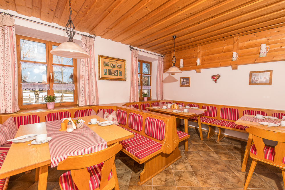 Blick in einen unserer Frühstücksräume