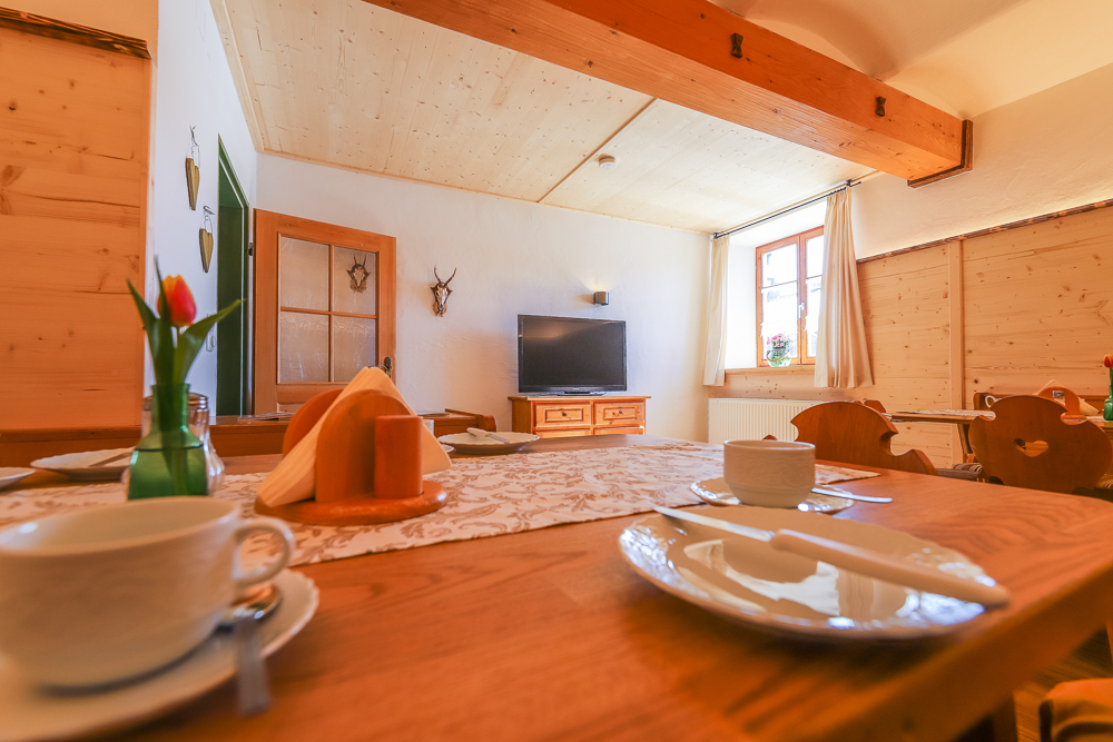 Einer der Frühstücksräume