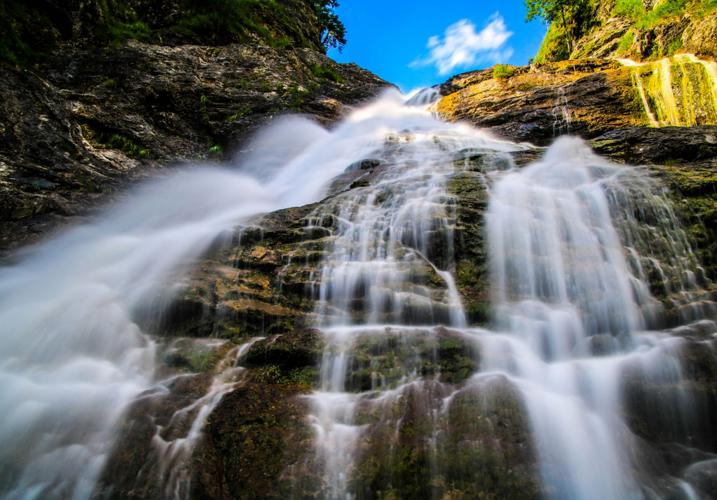 Wasserfall in Jachenau